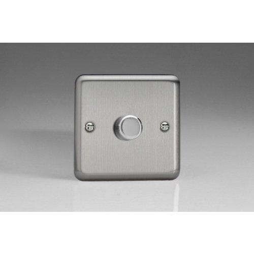 Varilight 1-Gang 2-Way Push-On/Off Rotary LED Dimmer 1 x 0-120W (1-10 LEDs)