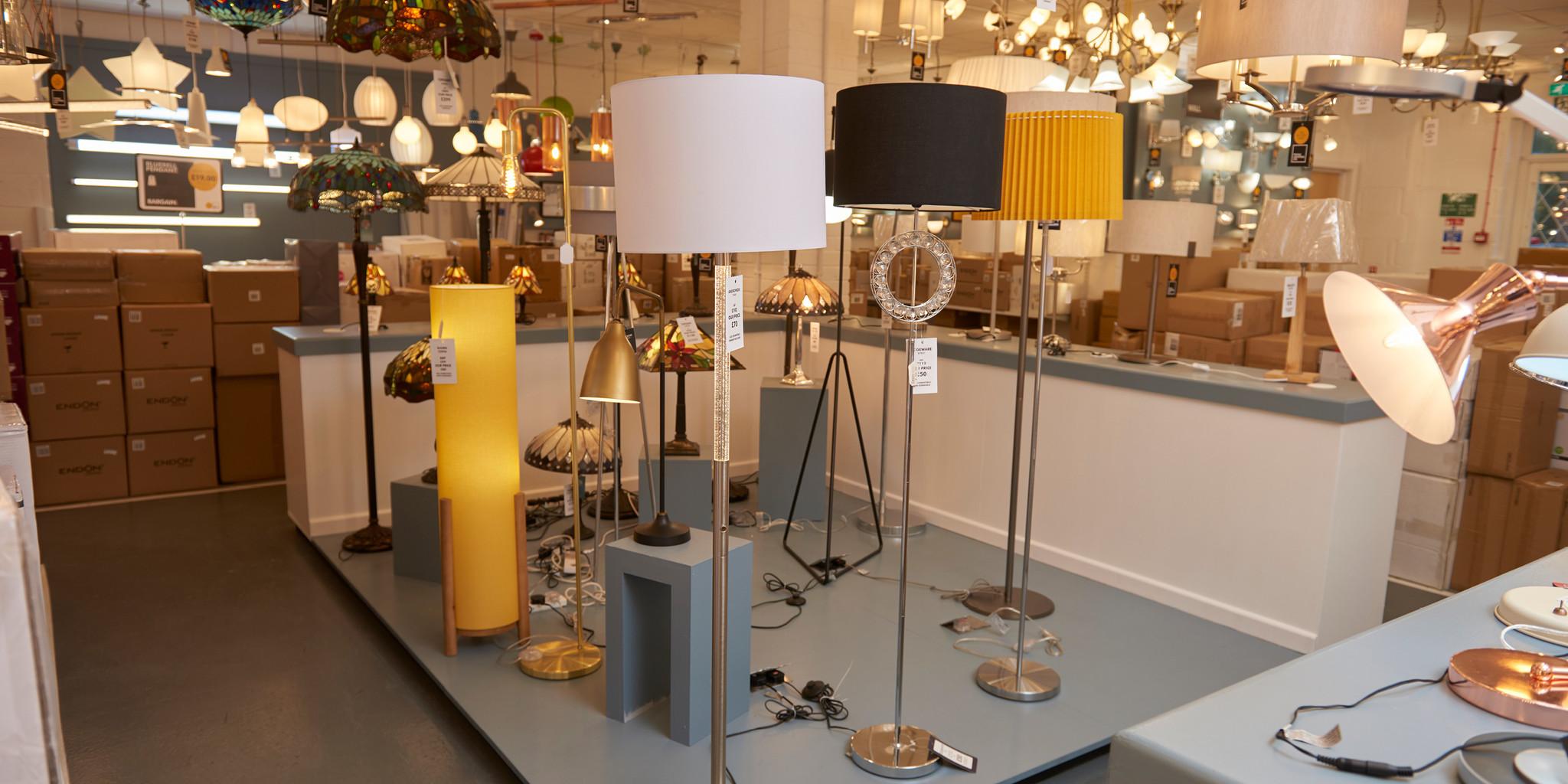 The Factory Shop floor lights