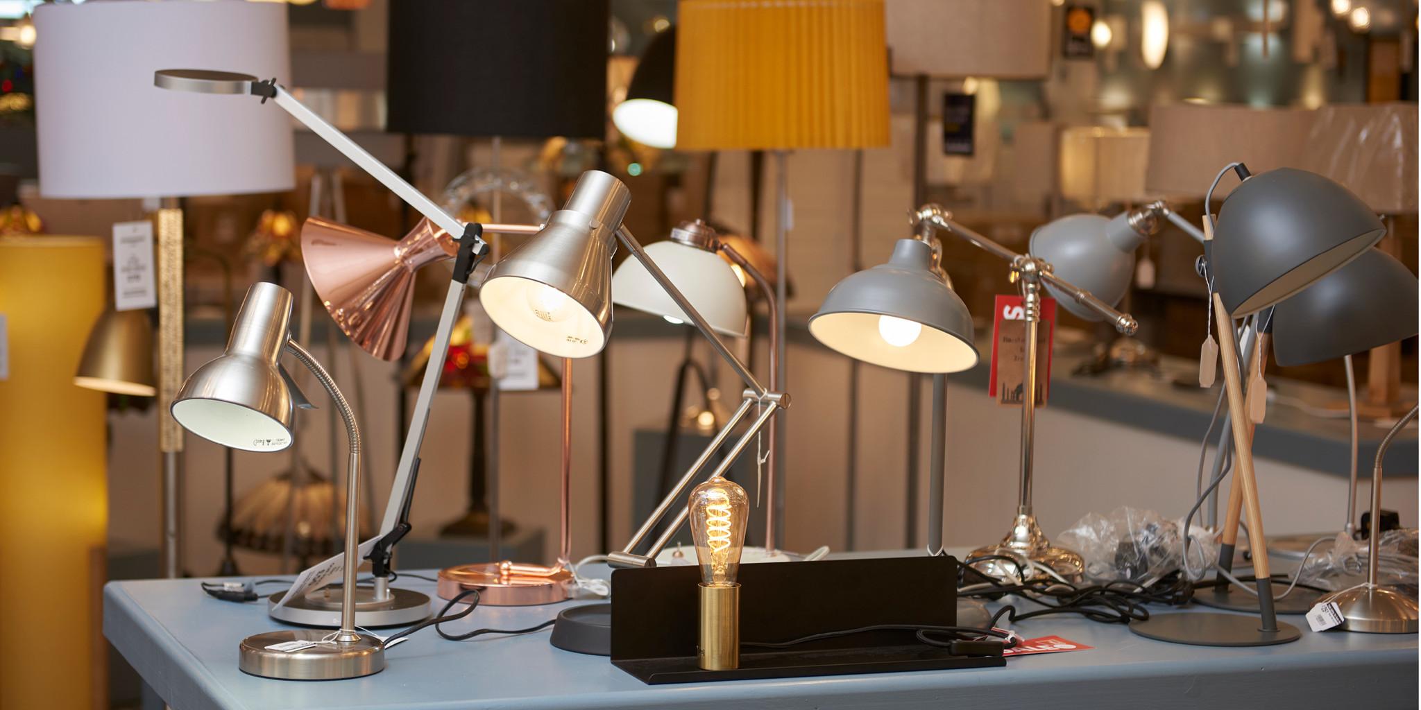 The Factory Shop desk task lights