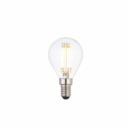 Saxby E14 LED filament golf dimmable 4W warm white accessory - clear glass