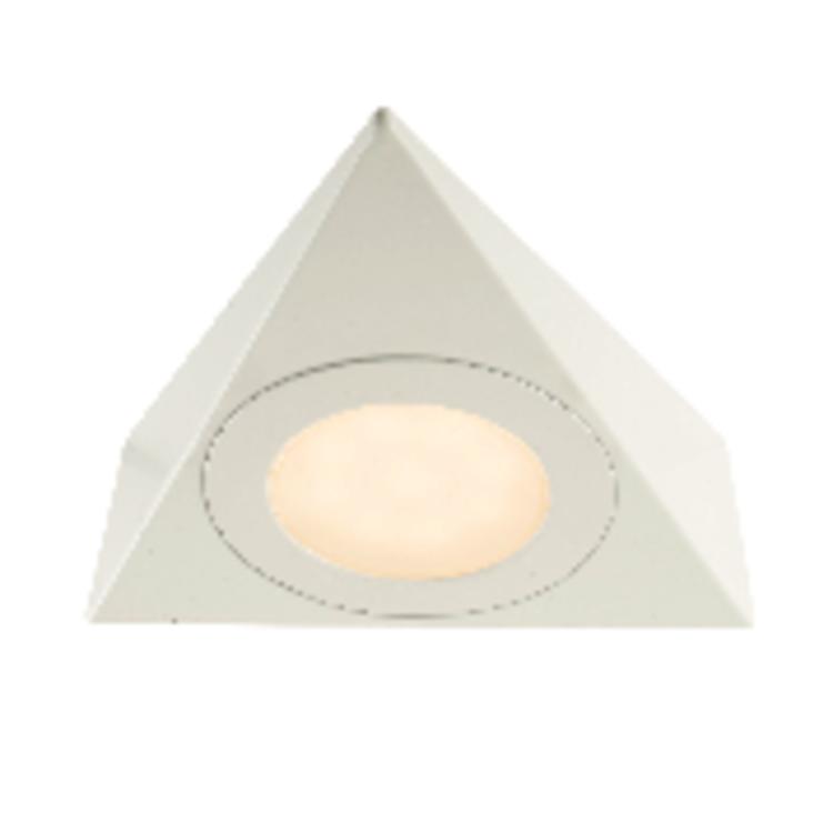 Saxby Nyx Kit 2.5W Warm White Cabinet - Matt White PACK OF 5
