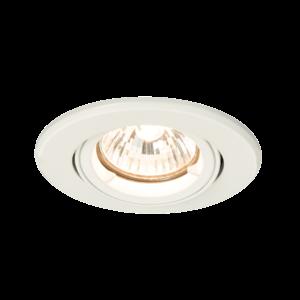 Saxby Shieldplus Mv Tilt 50W Recessed - Matt White