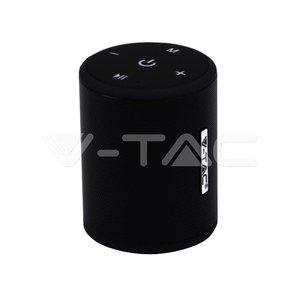 V-Tac V-Tac Portable Bluetooth Speaker Micro USB High End Cable 1500mah Battery Black