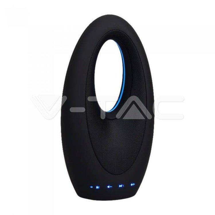 V-Tac V-Tac Portable Wireless Speaker Elegant Desing Touch Button 1200mAh Battery