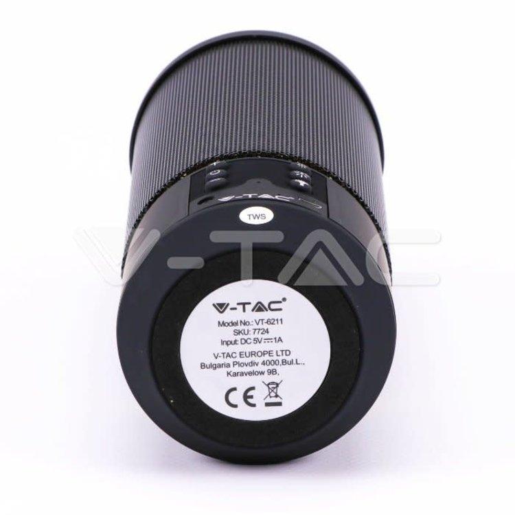V-Tac V-Tac Portable Wireless Speaker Flame Effect 1200mAh Battery