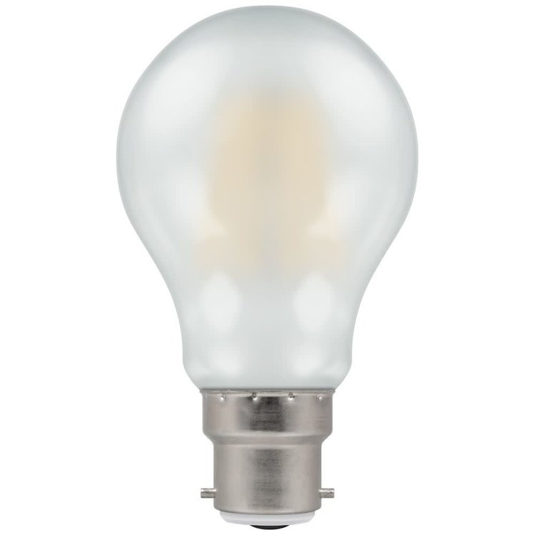Crompton 5W BC-B22D 2700 470 LED GLS Filament Pearl Dimmable