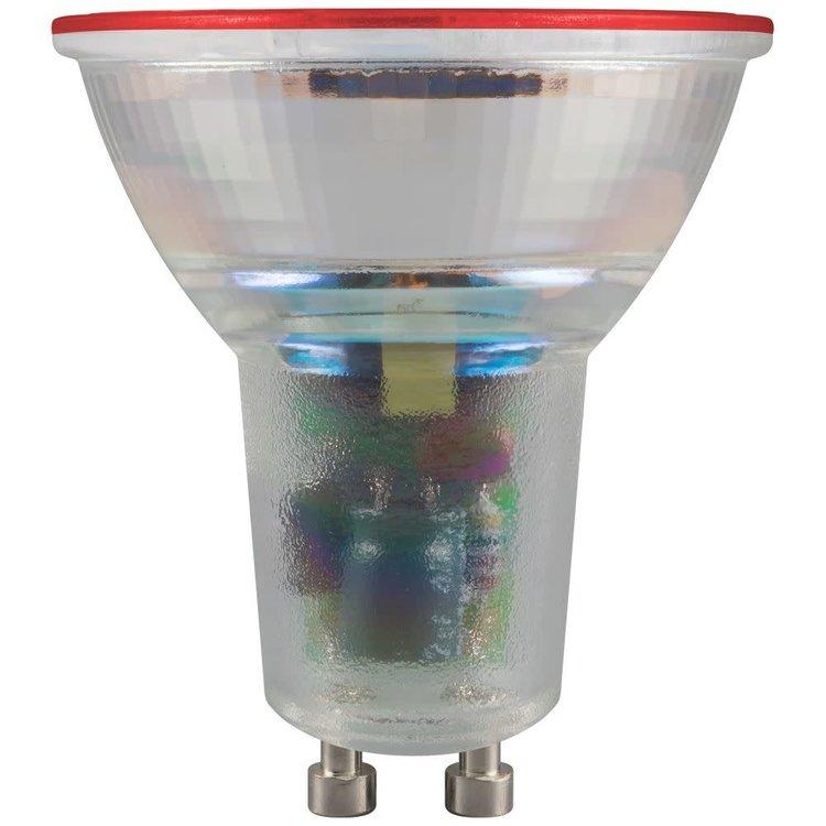 Crompton LED Coloured GU10 4.5W Red