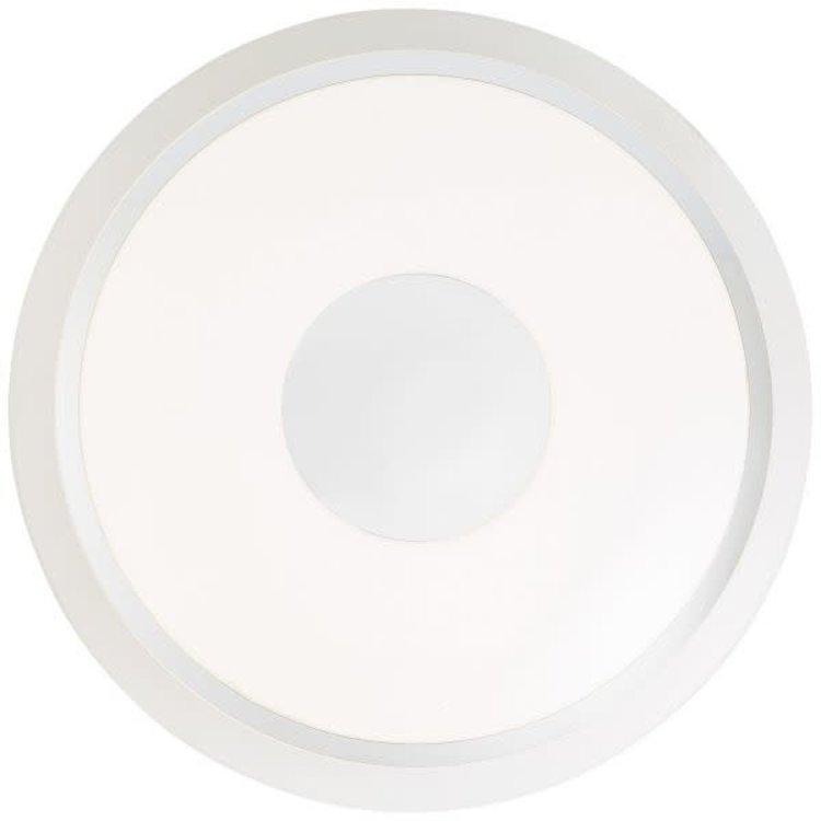 Brilliant Viktor 57 cm silver/white CCT RGB Remote Dim and RGB Backlight