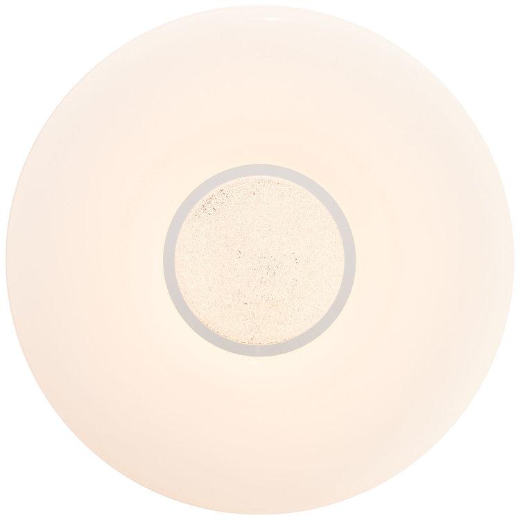 Brilliant Kennie LED Flush Light 39cm white/Chrome