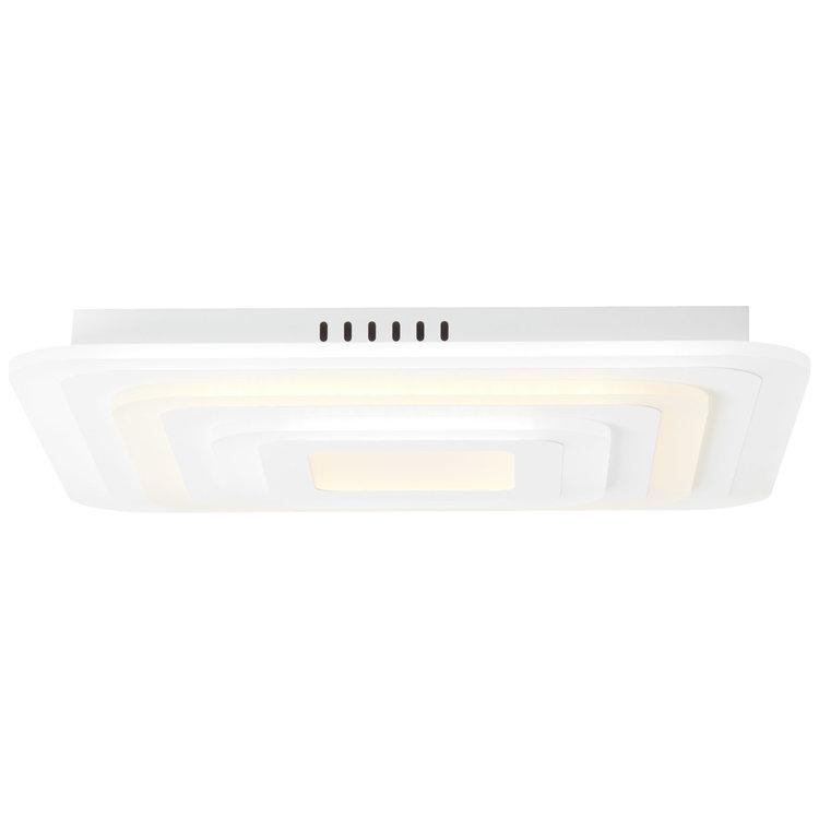 Brilliant Selenis LED ceiling light 50x50cm white matt
