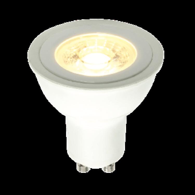 Saxby GU10 LED COB 5.2W warm white accessory - matt white