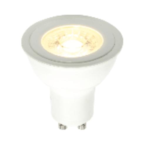 Saxby GU10 LED 10 Pack of COB 5.2W warm white accessory - matt white