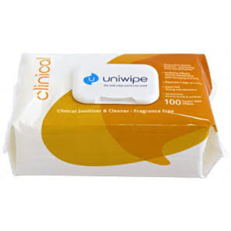 UltraGrime Uniwipe Midi Clinical Wipes x 200
