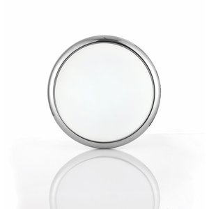 Saxby Montana 330MM Round Flush 15W CCT - Chrome Plate