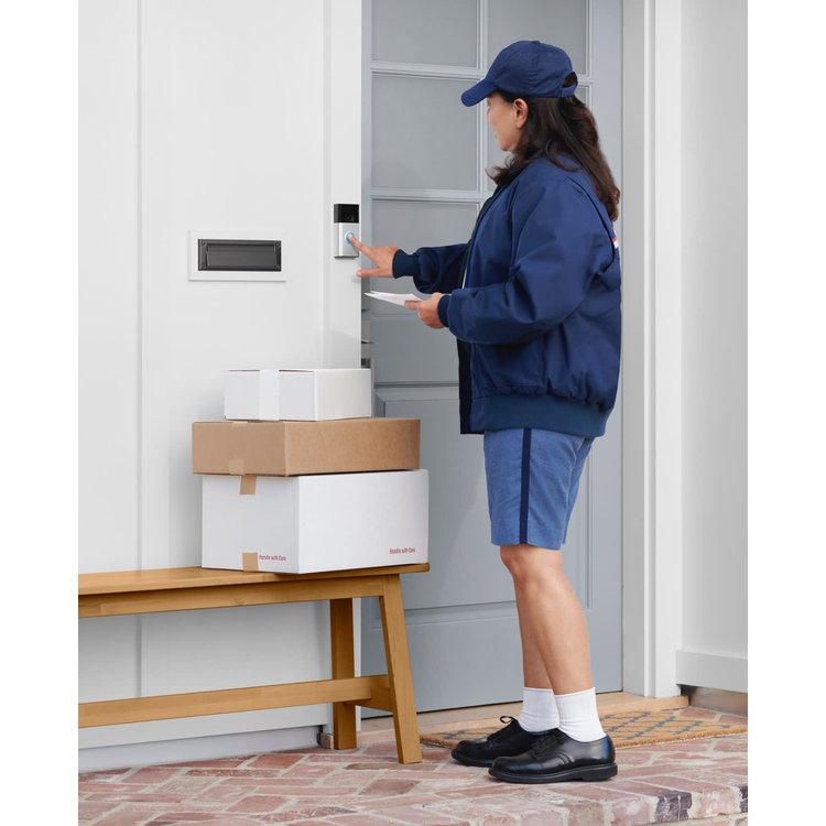 Ring Ring Video Doorbell Gen 2 - Satin Nickel