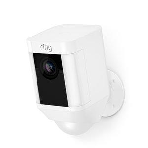 Ring Ring Battery Spotlight Cam - White
