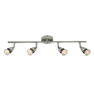 Saxby Amalfi 4LT Bar 50W Spot - Chrome Plate