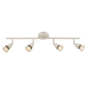 Saxby Amalfi 4LT Bar 50W Spot - Gloss White