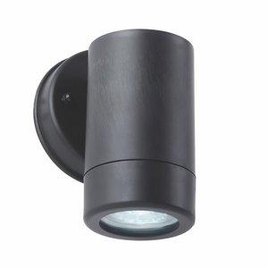 Endon Icarus 1LT Wall IP44 2.5W Daylight White - Black Polypropylene