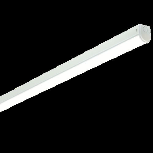 Saxby Linear 6Ft Single 28W Cool White Flush - Opal PC