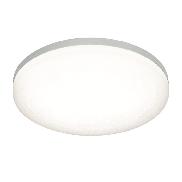 Saxby Noble 300MM Round Flush IP44 22W Cool White - Opal PC