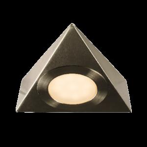 Saxby Nyx 2.5W Warm White Cabinet - Satin Nickel