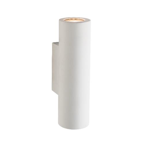 Saxby Salvo 2LT Wall 3.5W Warm White - White Plaster