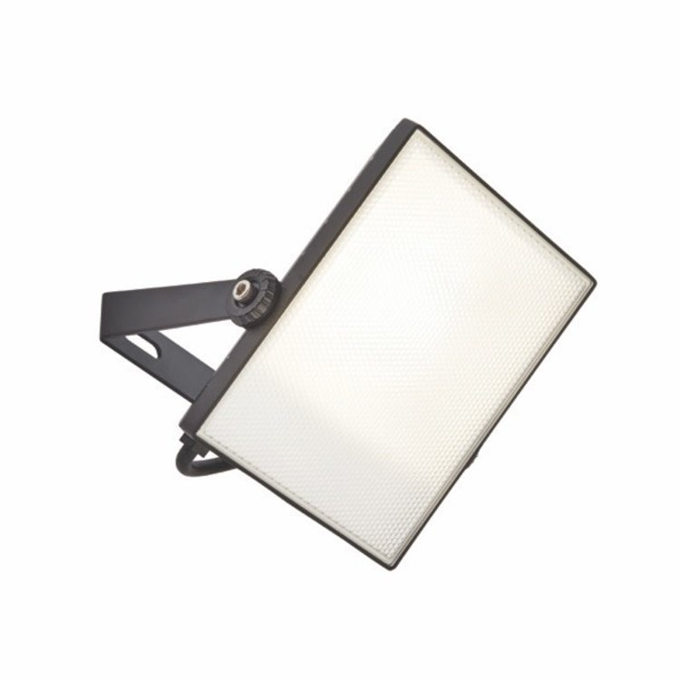 Saxby Scimitar IP65 30W cool white wall - textured Black