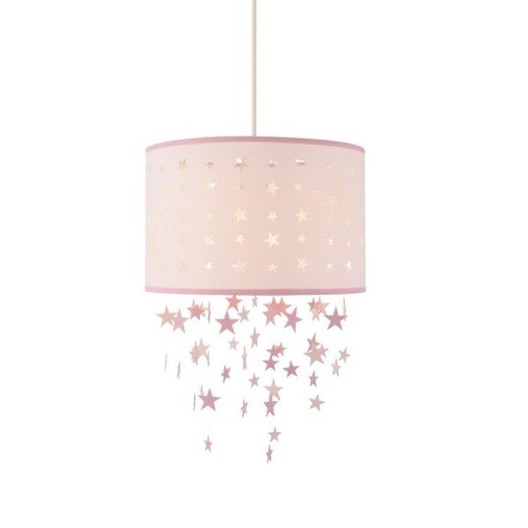 Poole Lighting Stars Shade Pink