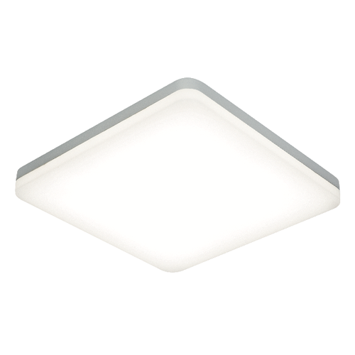 Saxby Noble 300mm square flush IP44 22W cool white - opal pc