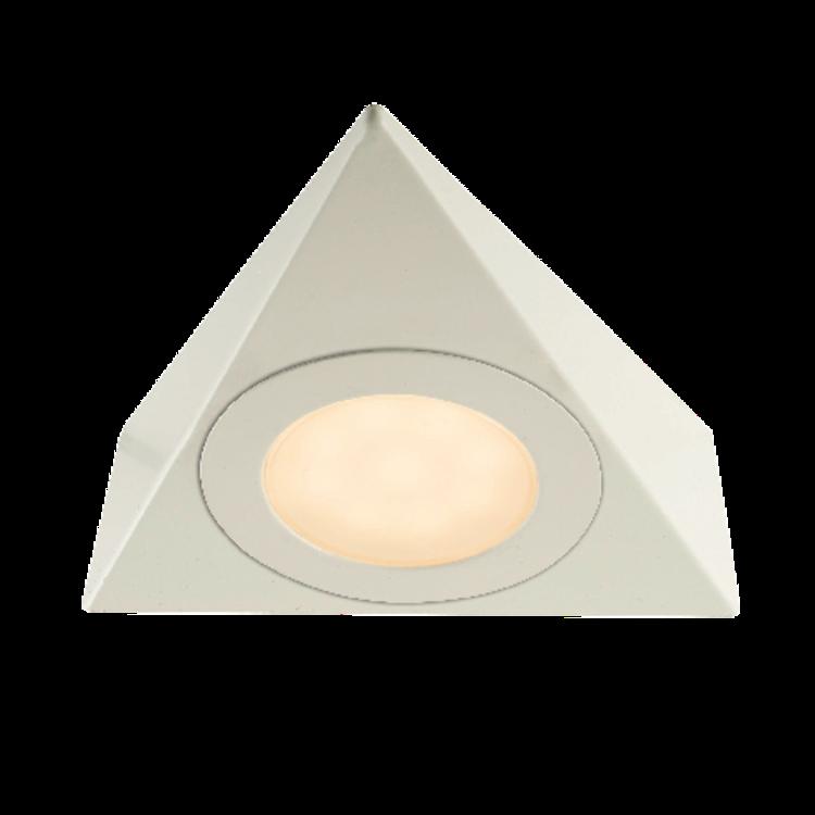 Saxby Nyx 2.5W Warm White Cabinet - Matt White