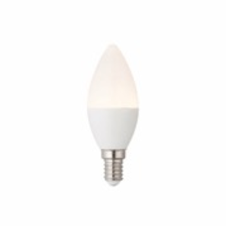 Saxby E14 LED Candle dimmable 4.5w warm white
