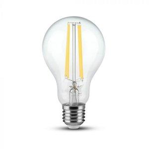 V-Tac V-TAC 12.5W A70 LED FILAMENT BULB-CLEAR GLASS WITH 6400K E27