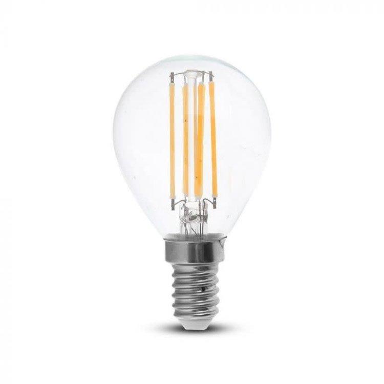 V-Tac V-TAC 4W P45 LED FILAMENT BULB 4000K E14