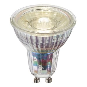 Saxby GU10 LED SMD dimmable 5.5W cool white accessory - clear glass
