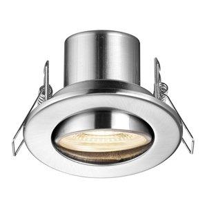 Poole Lighting Nitro Tilt Satin Warm White