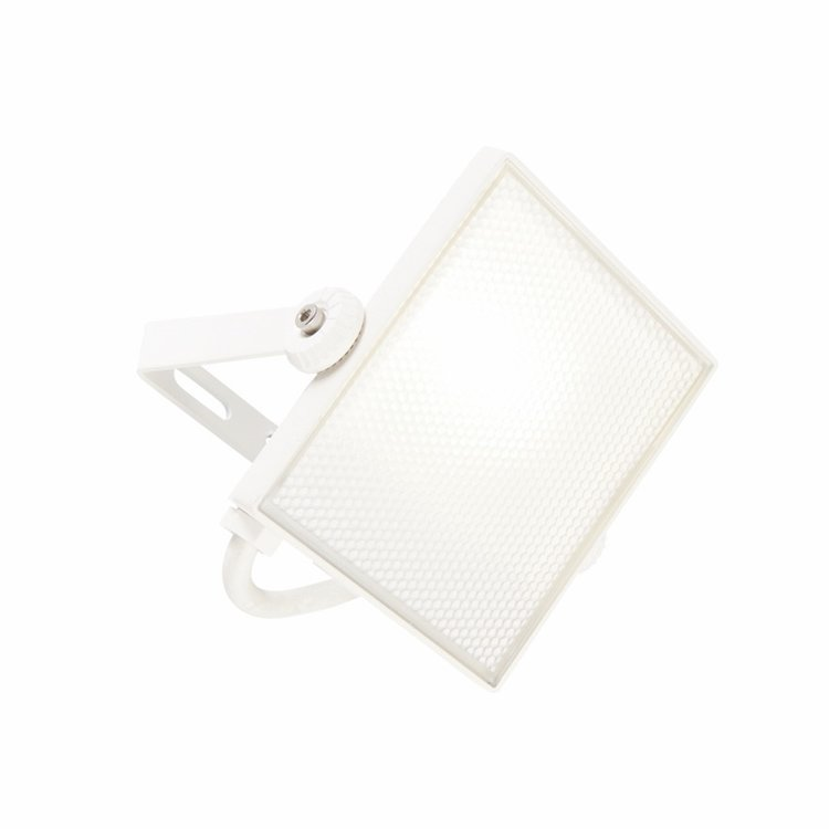 Saxby Scimitar IP65 10W cool white wall - textured White