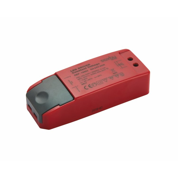 Saxby LED driver constant voltage 24V 20W accessory - red pc