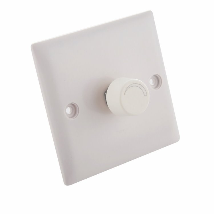 Saxby Dimmer Module 150W accessory - grey abs plastic