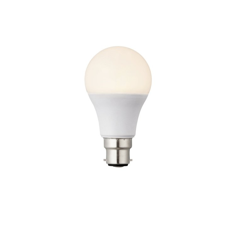 Saxby B22 LED GLS dimmable 10W warm white accessory - opal pc