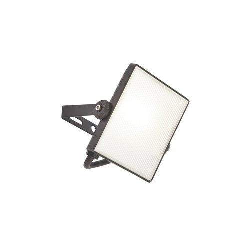 Saxby Scimitar IP65 10W cool white wall - textured Black