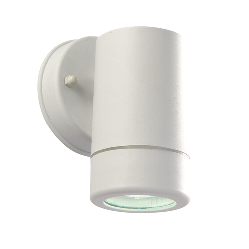 Saxby Icarus 1lt wall IP44 2.5W Daylight white - White Polypropylene