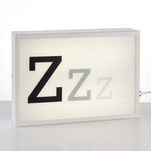 ZZZ Small Table Lamp