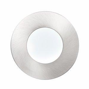 Saxby Orbitalplus IP65 9W Cool White Recessed - Satin nickel
