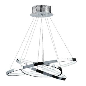 Endon Kline 3 Light Polished Chrome Ceiling Fitting