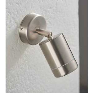 Saxby Atlantis Spot Wall IP65 35W - Marine Grade Brushed Stainless Steel