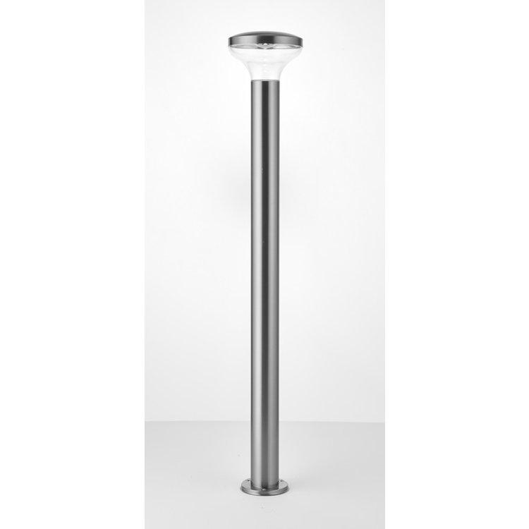 Saxby Roko Bollard IP44 3.5W Cool White Floor - Marine Grade Brushed Stainless Steel