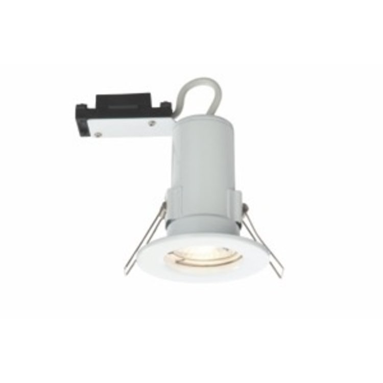 Genesis Pressed Steel Fire Rated Downlight Gloss White