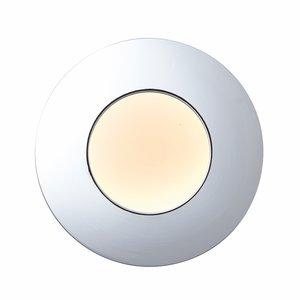 Saxby Orbitalplus IP65 9W Warm White Recessed - Chrome Plate