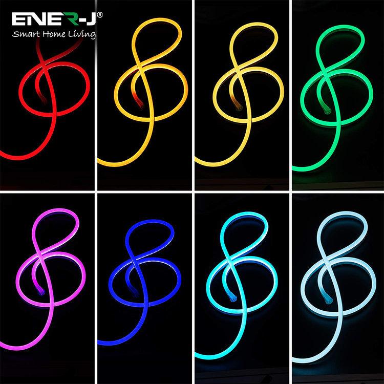 Ener-J Ener-J Smart WiFi LED Light Strip Kit 3m RGB